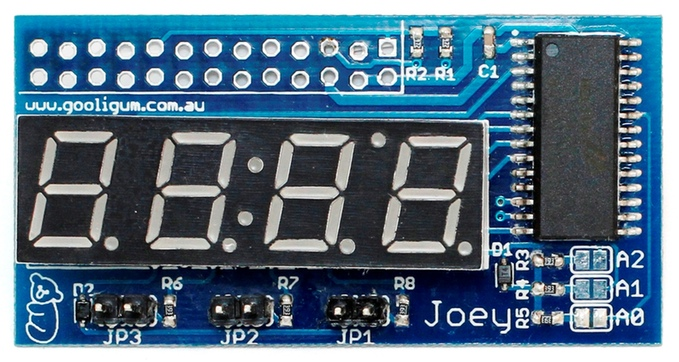 Joey, a kickstarter little LED board