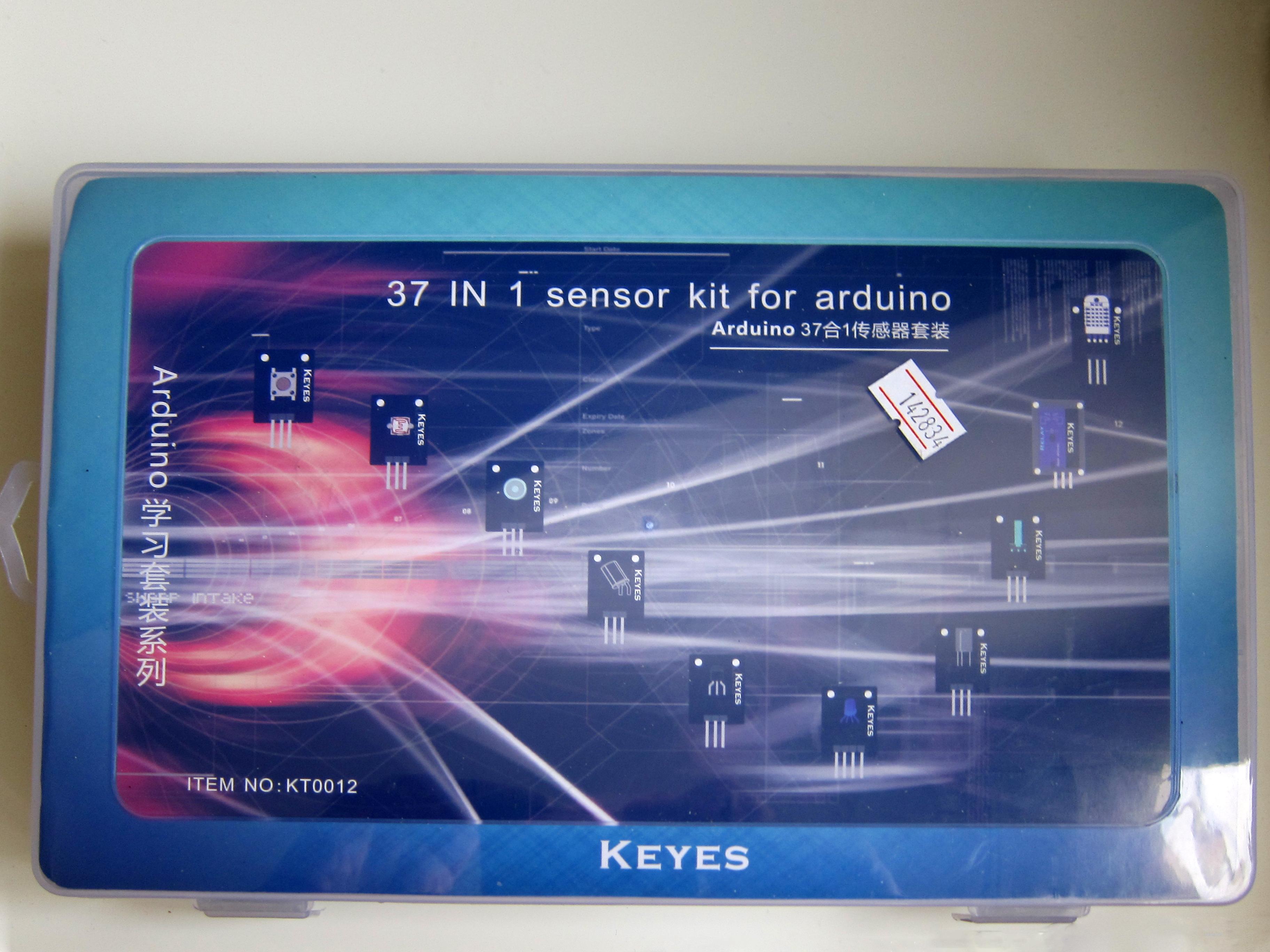 Arduino kits, components, I/O components, sensors