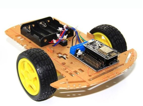 NodeMCU Lua 2WD ESP8266 WiFi Smart Car Kit